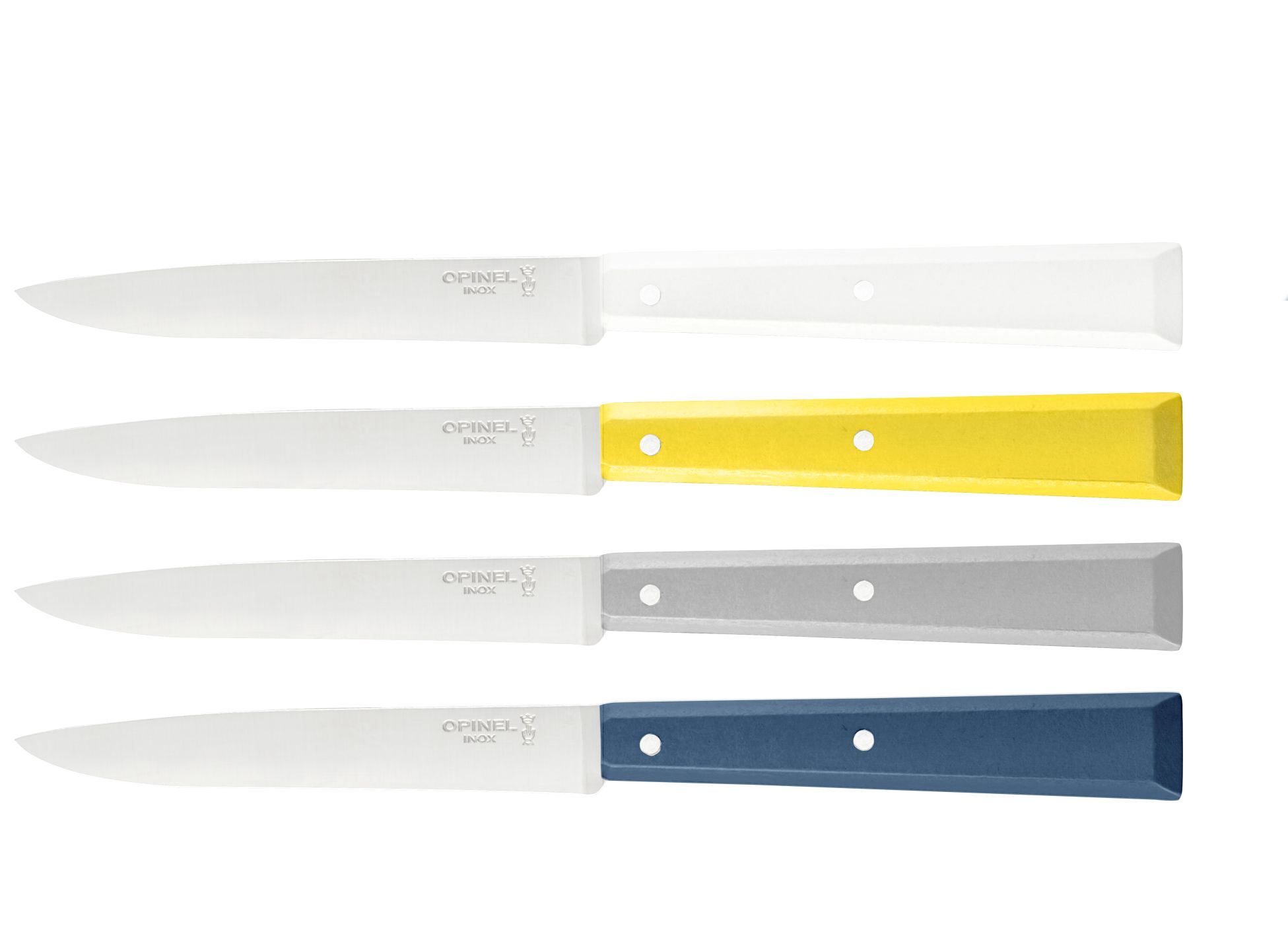 Coffret de 6 couteaux de table N°6 Bon Appétit Céleste